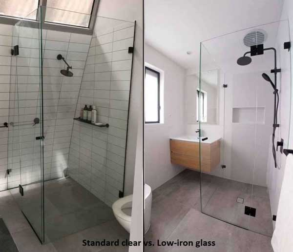 Frameless Shower Screns